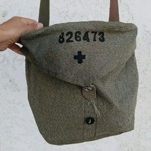Vintage army purse